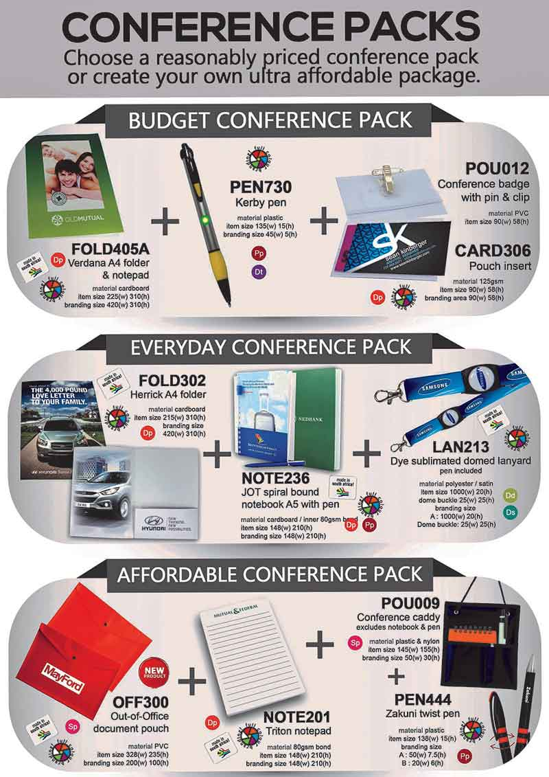 Conference Packs 2016